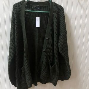 American eagle cardigan sweater size large